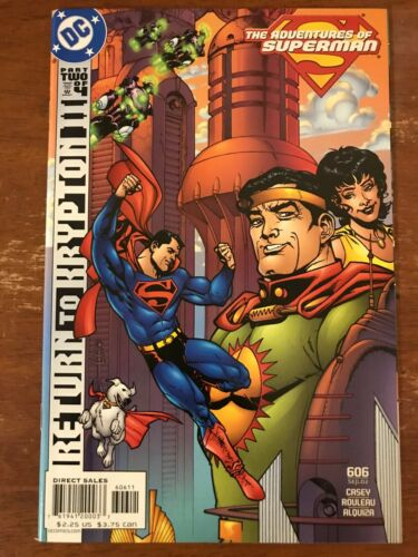The Adventures of Superman #606 (DC, Sep., 2002)