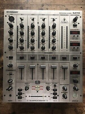 Behringer DJX700 5-Channel Professional DJ Mixer Digital with FX / BPM Counter