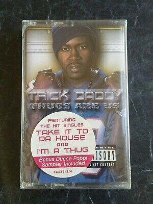 Trick daddy thug are us miami gangsta rap hip hop cassette tape 2001 slip slide