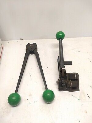 Steel Strapping Tensioner Tool 38 To 34 Palletizing Banding Crimper