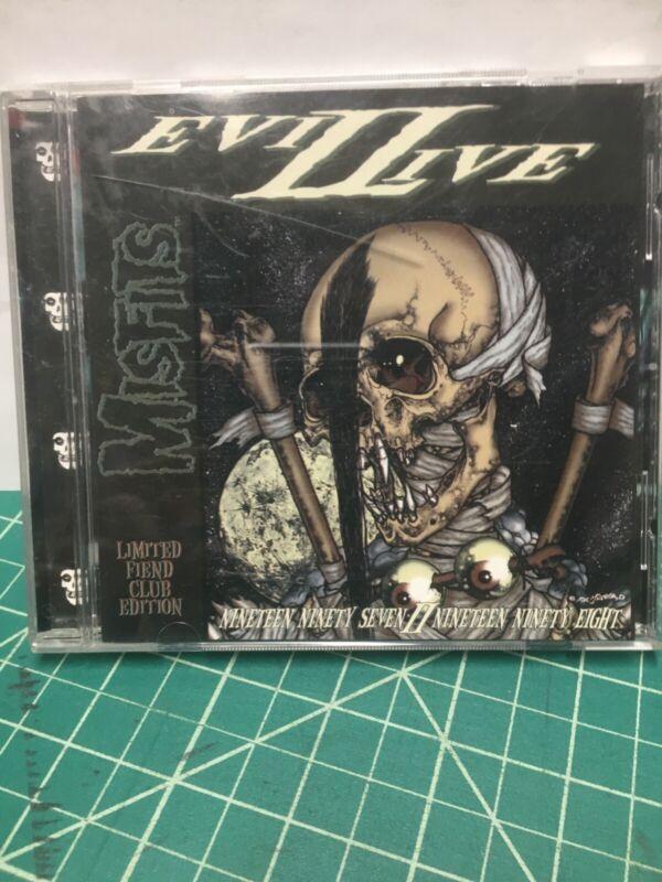 1998 fiend club edition Misfits Evil Live II CD - Good music