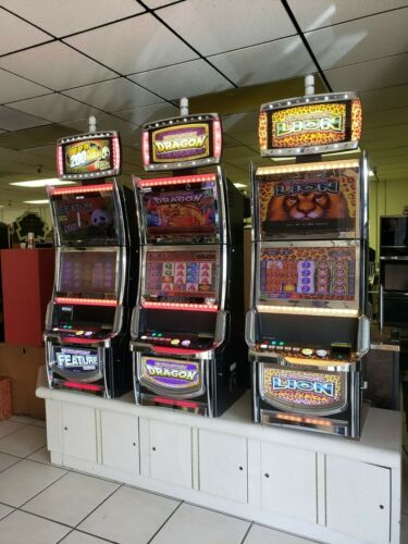 3 ARUZE  ULTRA STACK SLOT MACHINES   SPECIAL  FUN FOR YOUR HOME GAME ROOM