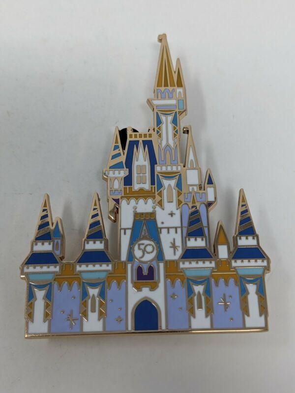 WDW 50th Anniversary Cinderella Castle Walt Disney World LE 1500 Box Set Pin