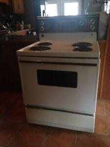 Whirlpool electric stove