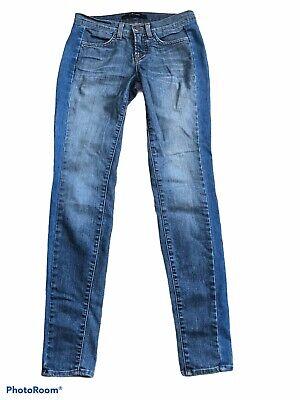 J Brand Bliss Skinny Jeans Women's Size 24 Two-Tone Denim