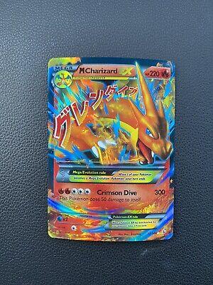 M Charizard EX XY Flashfire 13/106 Ultra Rare Holo Mega Fire Pokemon Card