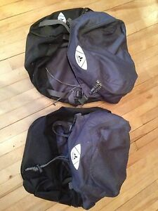 2 Vaude Bicycle saddle bags - used 1-2 times