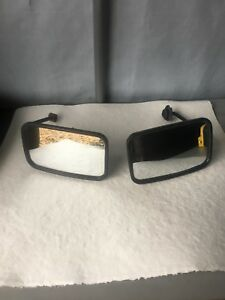 Equipment rear view mirrors
