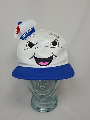 Stay Puft Hat (GHOSTBUSTERS Movie 2016 Official STAY PUFT Hat SNAPBACK Cap Columbia)
