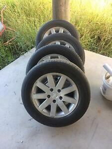 Holden commodore vy rims and tyres Clarence Town Dungog Area Preview