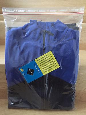Unterbekleidung Jacke, Hans Riederer, Größe XL, schwarz/kornblau