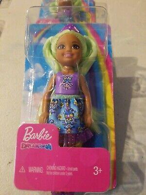 Mattel Barbie Dreamtopia Mermaid Green Hair Girl Doll