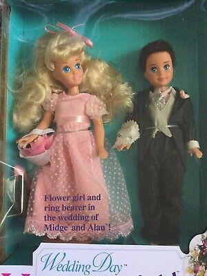 Barbie Wedding Day Kelly and Todd Gift Set Flower Girl & Ring Bearer