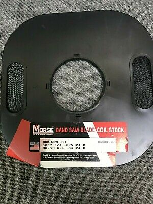 100 X 14 X 24r Band Saw Coil Stock Quick Silver Hard Edge Flex - Usa - New