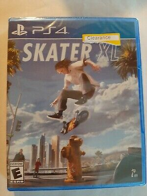 Skater XL - PlayStation 4, New PS4