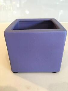 Purple ceramic pot Marrickville Marrickville Area Preview