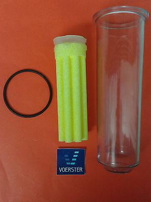 Afriso Set Filtertasse lange Ausführung Filtereinsatz O-Ring Oelfilter Heizung