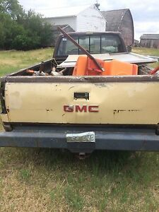 Parting out a 91 gmc 1500 4x4