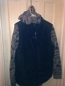 Men's large Echo sweater with vest