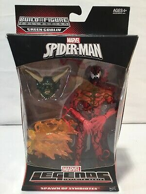 Marvel Legends Spiderman-2 CARNAGE Action Figure Green Goblin BAF