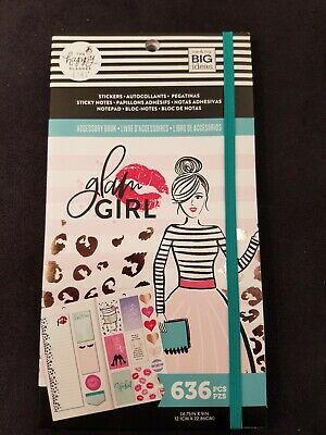 Glam Girl Happy Planner New Release 2019 Sticker And Sticky Note Accessory Pack