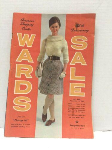 Vintage 1960 MW Montgomery Ward Sale Catalog Original Complete - Wards