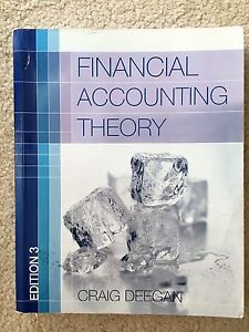 Financial accounting theory Caulfield Glen Eira Area Preview