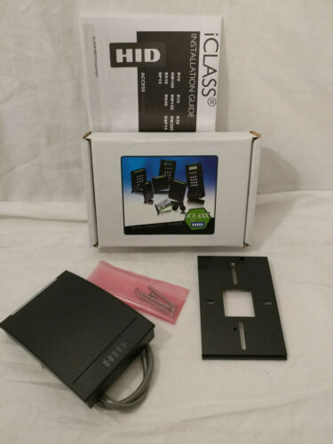HID iCLASS R40CKNN R40 Wall Switch Reader 6120CKN000D R-640X-300 NEW