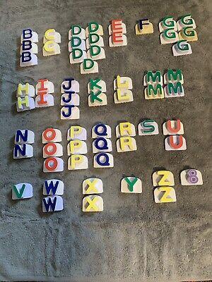 Leap Frog Magnetic Fridge Alphabet Replacement Letters You Choose