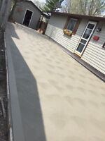 DRIVEWAYS, GROVEL DRIVEWAYS, PATIOS, SIDEWALKS and MORE!!!!