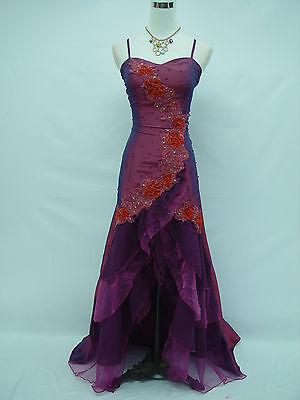 Cherlone Purple Ballgown Prom Bridesmaid Formal Wedding/Evening Dress Size 8-10