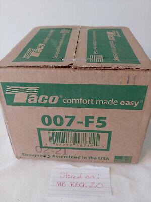 Taco Model 007 007-f5 Cast Iron Cartridge Circulator Pump - 125 Hp