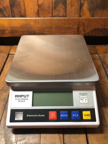 AMPUT 10kg Capacity Digital Electronic Balance Scale 457A