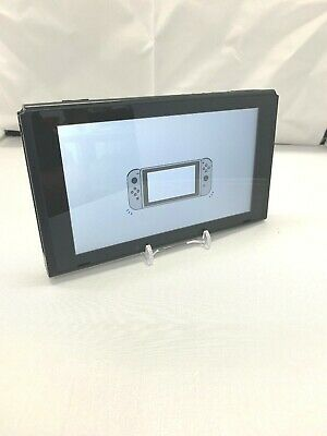 Nintendo Switch HAC-001 32GB Console Only Black UNPATCHED LOW S/N Grd B