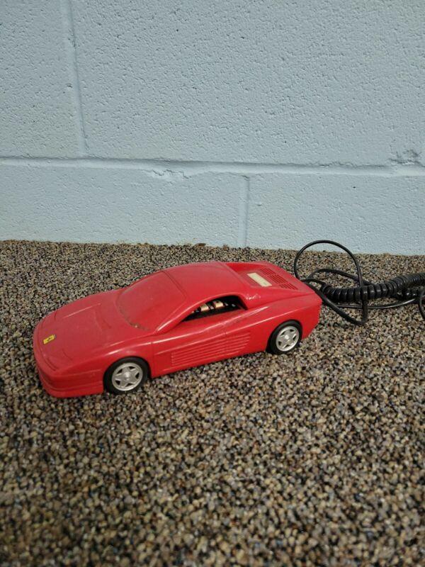 Dialfone TR88S Red Ferrari Testarossa Land Line Touch Tone Phone Home Telephone