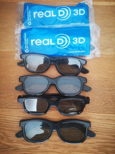 6x real D 3D Brille