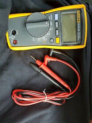 Fluke 110 Plus True Rms Digital Meter 600-volt Multimeter Test Meter Tool New