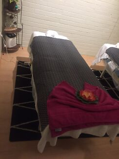 Massage table near new for sale