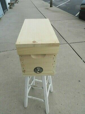 5 Frame Mating Nuc Hive Queen Rearing Honey Bee Supplies W Frames Foundation