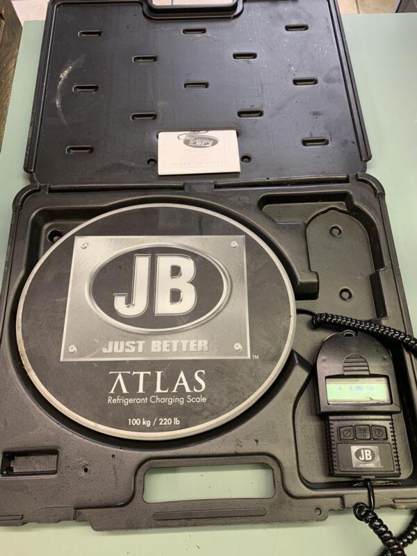 JB atlas refrigeration charging scale