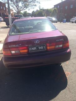 Lexus 98 unregistered needs to go