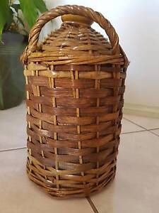 Demijohn - wicker covered in excellent condition Port Macquarie Port Macquarie City Preview