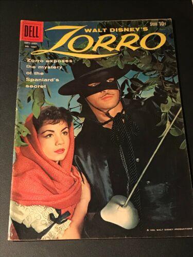 Zorro #1037 Dell Comics Four Color 1959 FN