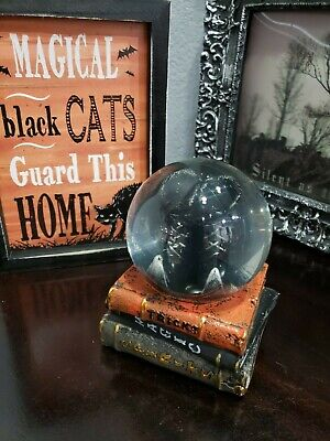 Halloween Witch Boots Spell Books Water Globe Snow Globe Tabletop Decor Prop](Halloween Witch Spell Books)