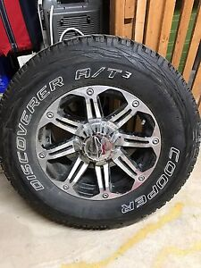 Brand-new tire and rim