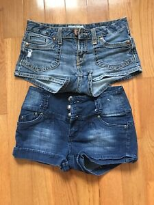 Girls Summer jean shorts