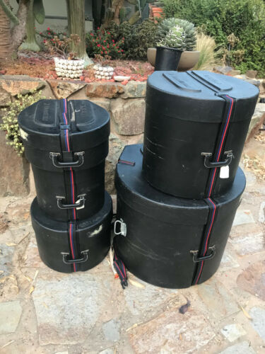 Humes and Berg Hard drum cases 24x20,12x11,14x12,16x16,14x6.5