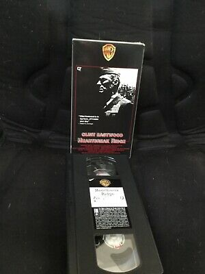 Heartbreak Ridge (VHS,1990) Slip Sleeve Clint Eastwood