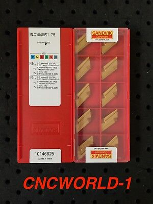 10 Pcs Sandvik Knux 160405r11 235 1 Box Original Sandvik