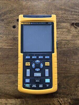 Fluke 123 20mhz Industrial Scopemeter